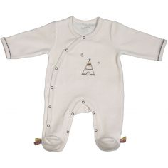 Pyjama chaud Timouki beige (Naissance)