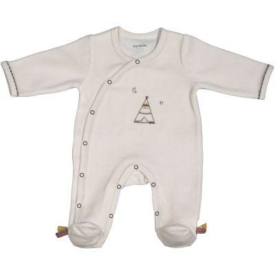 Pyjama chaud Timouki beige (Naissance)  par Sauthon