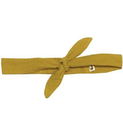 Bandeau noué jaune moutarde (0-5 ans)  par BB & Co