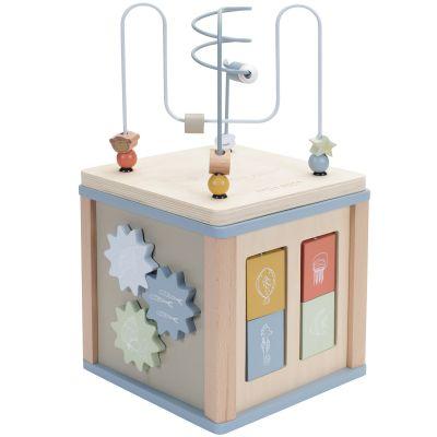 Cube d'activités Ocean  par Little Dutch
