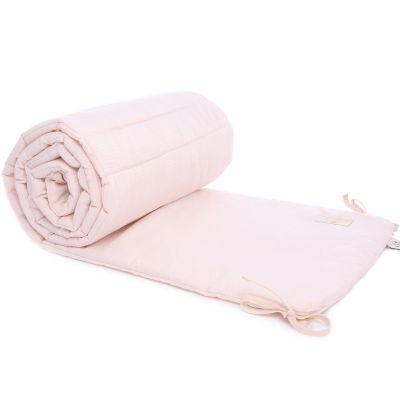 Tour de lit Nest rose pâle Nid d'abeille (pour lits 60 x 120 et 70 x 140 cm)  par Nobodinoz