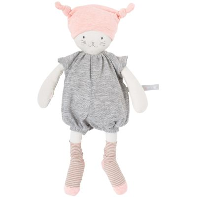 Peluche Moon le chat Les petits dodos (34 cm) Moulin Roty