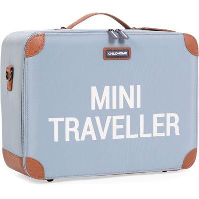 Petite valise Mini traveller gris  par Childhome