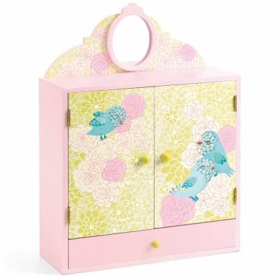 Boîte à bijoux oiseau romantique Djeco