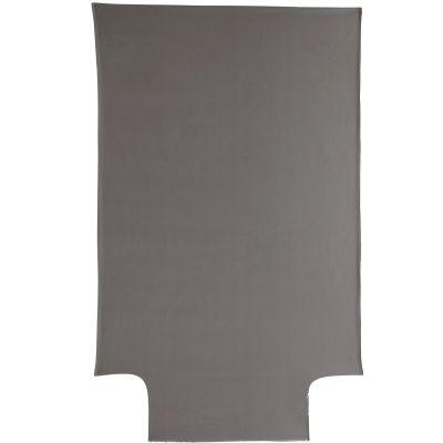 housse de couette coton bio taupe 100 x 140 cm. Black Bedroom Furniture Sets. Home Design Ideas