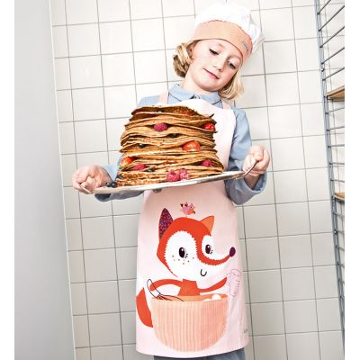 Tablier et toque Alice Little Chef  par Lilliputiens