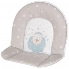 Coussin de chaise haute tissu mouton