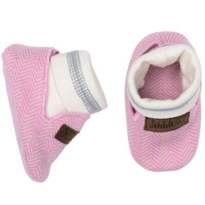 Chaussons Cottage rose (0-3 mois) Juddlies