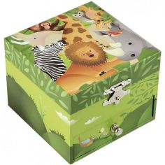 Coffret cube jungle