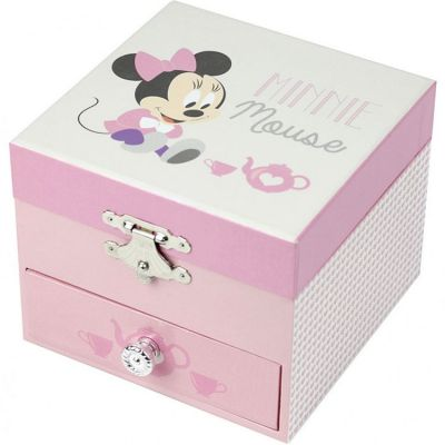 Boîte à musique Cube Minnie Baby Trousselier
