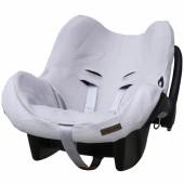 Housse pour siège-auto groupe 0+ Classic gris argent - Baby's Only