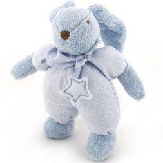 Peluche lapin Etoile bleu (30 cm)
