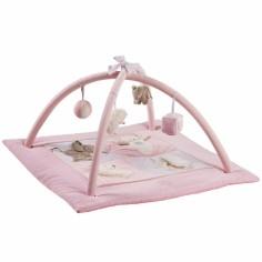 Tapis d'éveil rose (80 x 80 cm)