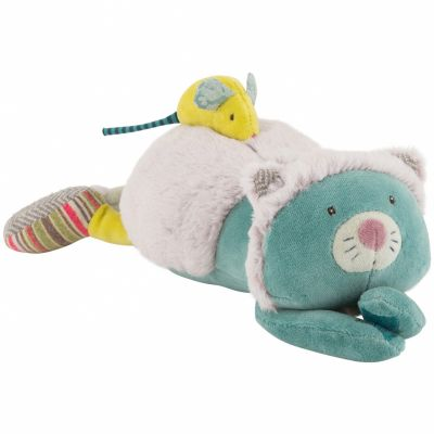 Peluche musicale chat Les Pachats (33 cm) Moulin Roty