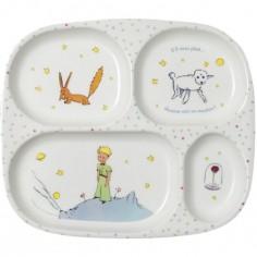 Assiette plateau à compartiments Le Petit Prince