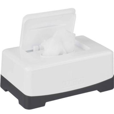 Boîte à lingettes blanc neige  par Luma Babycare