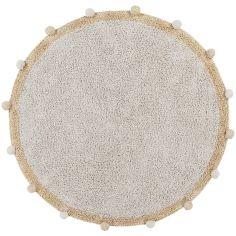 Tapis lavable Bubbly natural miel (120 cm)
