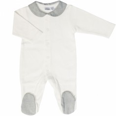 Pyjama léger Sirene Grey (3 mois : 62 cm)