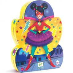 Puzzle super-héroïne Super Star (36 pièces)
