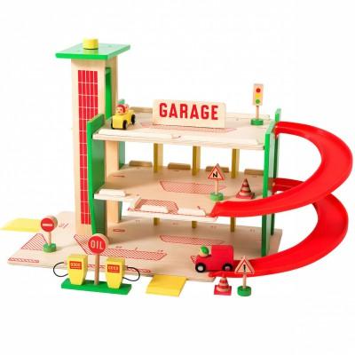 Garage Dans la ville  par Moulin Roty