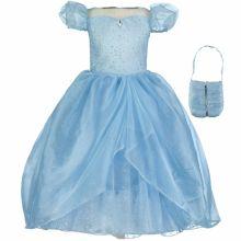 Robe de princesse bleue scintillante (6-8 ans)  par Travis Designs