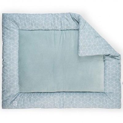 tapis de parc graphic vert d 39 eau 80 x 100 cm jollein. Black Bedroom Furniture Sets. Home Design Ideas