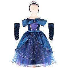 Robe de princesse étoilée (6-8 ans)