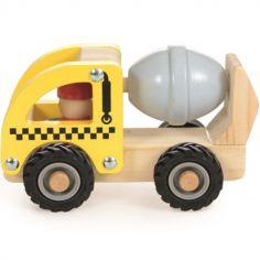Camion bétonneuse en bois