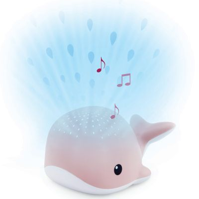 Projecteur d'ambiance Wally la baleine rose