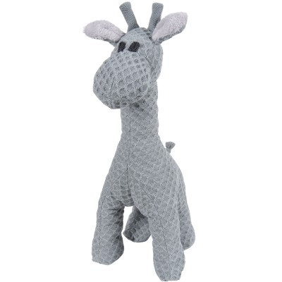 Peluche girafe debout Sun gris et gris argent (40 cm) Baby's Only