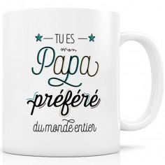 Mug céramique Papa Préféré