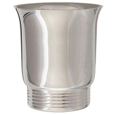 Timbale Filets B personnalisable (métal argenté) dans son coffret  par Daniel Crégut