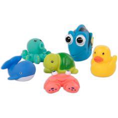 Coffret jouets de bain (6 pièces)
