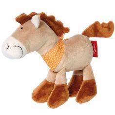 Mini peluche cheval Ferme (18 cm)