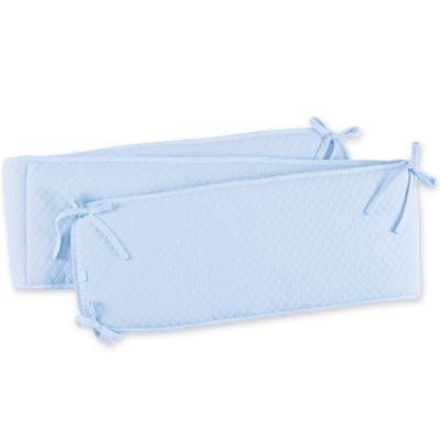 Tour de lit réversible Kilty bleu clair (20 x 180 cm)  par Bemini