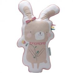 Coussin lapin Adventure pink (45 cm)