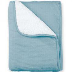 Couverture Pady chaude Cadum bleu minéral (75 x 100 cm)