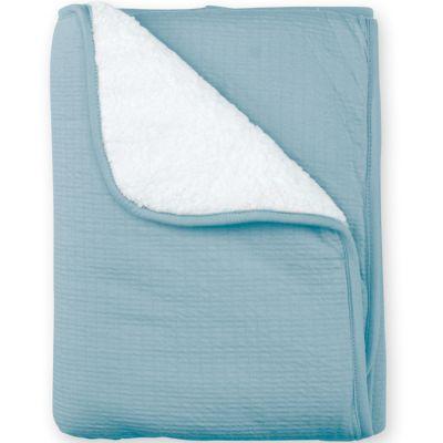 Couverture Pady chaude Cadum bleu minéral (75 x 100 cm)  par Bemini