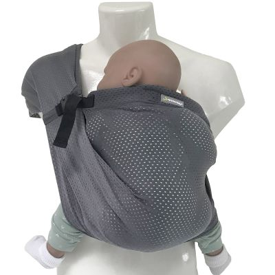 Porté bébé Mini Sling gris  par Minimonkey
