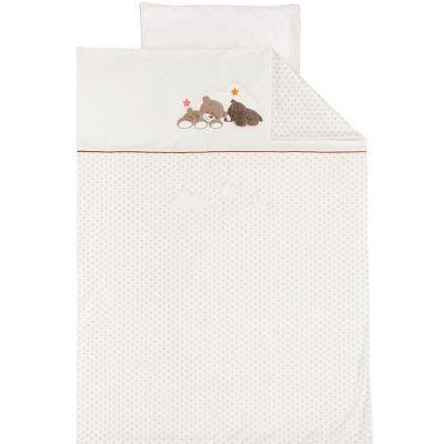 Housse de couette + taie d'oreiller Mia & Basile (100 x 140 cm)  par Nattou