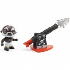 Figurine pirate Marcus & Ze harpoon