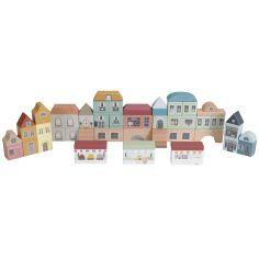 Lot de 50 blocs de construction Ville