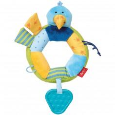 Hochet anneau oiseau PlayQ