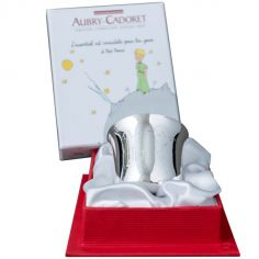 Coquetier Le Petit Prince mouton personnalisable (métal argenté)