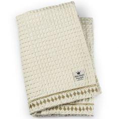 Couverture coton gaufré Vanilla White (70 x 100 cm) - Elodie Details 45a01bd5bc7