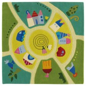 Tapis Monde du jeu (140cm x 140cm) - Haba