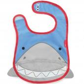 Bavoir à poche Zoo Requin - Skip Hop