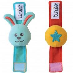 Bracelets d'éveil Circus (2 pièces)