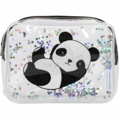 Trousse de toilette à paillettes Panda