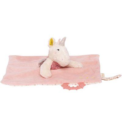 Doudou de dentition licorne Lilou et Perlin  par Galipette